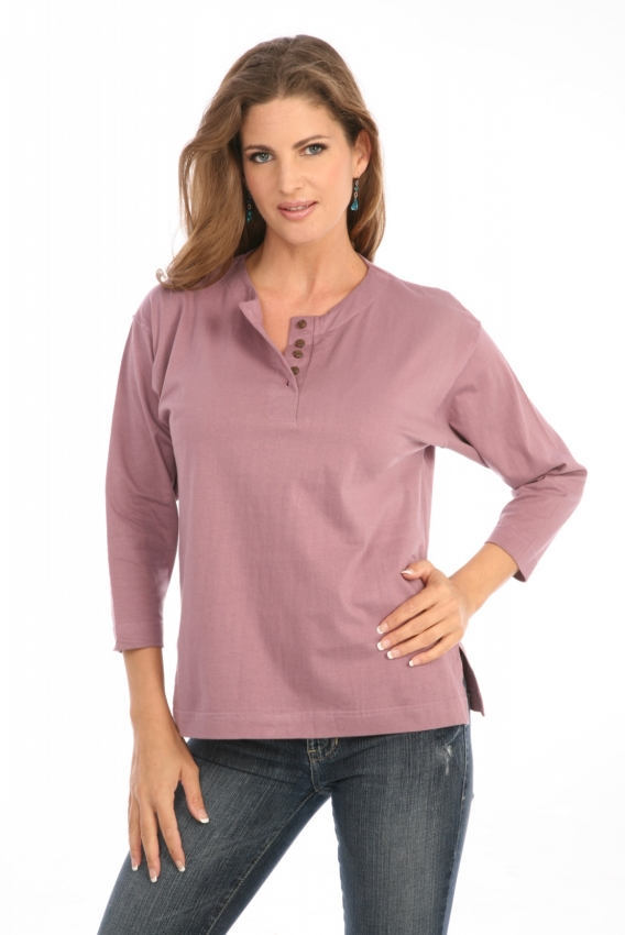 Henley in Dusty Orchid