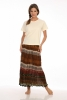 Navajo Skirt in Brown